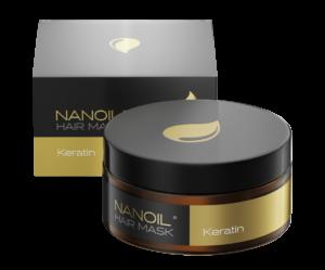 Nanoil Haarmaske mit Keratin – beste Regeneration für Ihre Haare